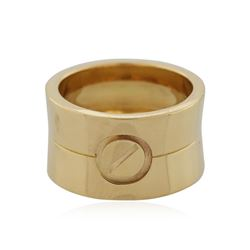 Cartier 18KT Yellow Gold Ring