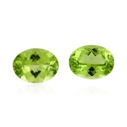 3.82 ctw. Natural Oval Cut Peridot Parcel