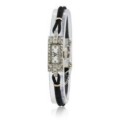 Ladies Vintage Eloga Diamond Wristwatch