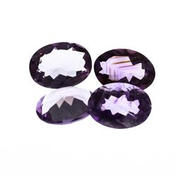41.06 ctw. Oval Amethyst Parcel