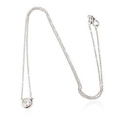 14KT White Gold 0.36 ctw Diamond Necklace