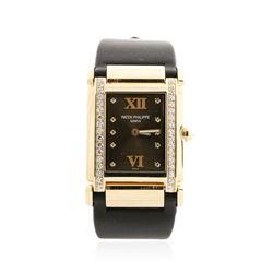 Patek Philippe 18KT Rose Gold Diamond Twenty 4 Wristwatch