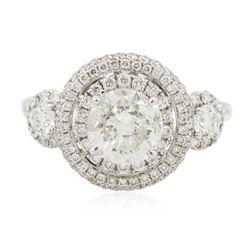 18KT White Gold 2.74 ctw Diamond Ring