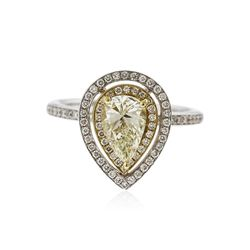 14KT Two-Tone Gold 1.22 ctw Diamond Ring