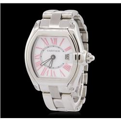 Ladies Stainless Steel Cartier LadyRoadster Wristwatch