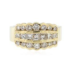 14KT Yellow Gold 1.50 ctw Diamond Ring