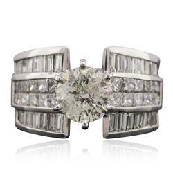 18KT White Gold 4.56 ctw Diamond Ring