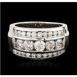 14KT White Gold 2.52 ctw Diamond Ring