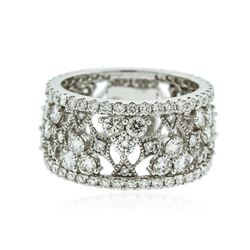 14KT White Gold 2.77 ctw Diamond Ring