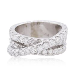 14KT White Gold 2.74 ctw Diamond Ring