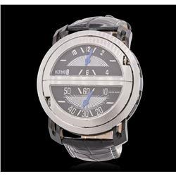 Ritmo Mundo Persepolis Stainless Steel Wristwatch
