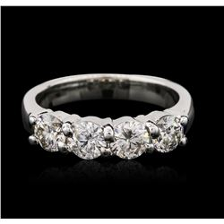 14KT White Gold 1.38 ctw Diamond Ring