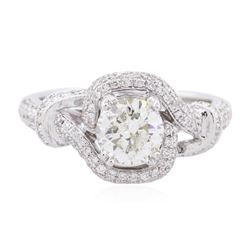 18KT White Gold 1.55 ctw Diamond Ring