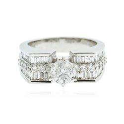 18KT White Gold 2.30 ctw Diamond Ring