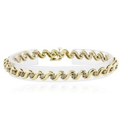 14KT Yellow Gold 0.50 ctw Diamond Bracelet