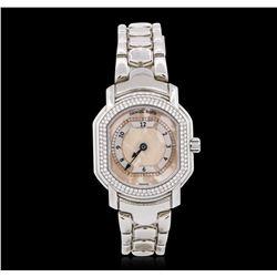 Ladies Stainless Steel Diamond Daniel Roth Wristwatch