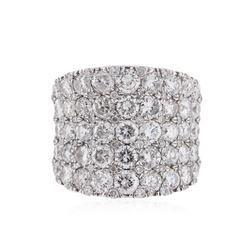 18KT White Gold 5.27 ctw Diamond Ring