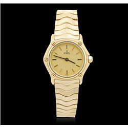 Ladies Ebel 18KT Yellow Gold Wristwatch
