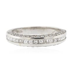Platinum 0.75 ctw Diamond Ring