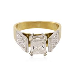 18KT Yellow Gold 1.81 ctw Diamond Ring