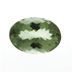 30.03 ct. Oval Green Quartz