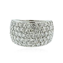 14KT White Gold 2.70 ctw Diamond Ring