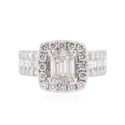 14KT White Gold 1.97 ctw Diamond Ring