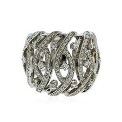 18KT White Gold 1.16 ctw Diamond Ring