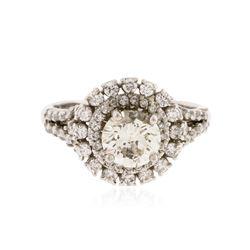 14KT White Gold 1.84 ctw Diamond Ring