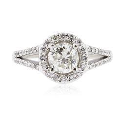 14KT White Gold 1.125 ctw Diamond Ring