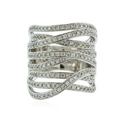 14KT White Gold 1.36 ctw Diamond Ring