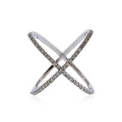 14KT White Gold 0.61 ctw Diamond Ring