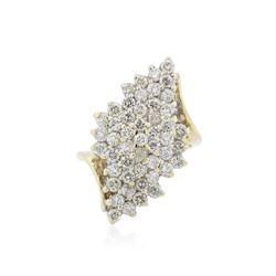 14KT Yellow Gold 1.52 ctw Diamond Ring