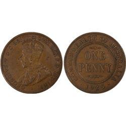 1925(m) Penny PCGS AU50