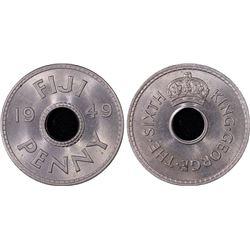 Fiji Penny 1949 PCGS MS 65