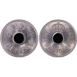 Fiji Penny 1952 PCGS MS 64