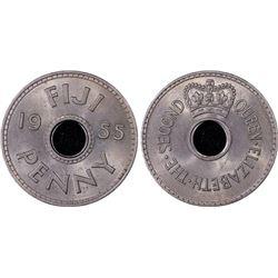 Fiji Penny 1955 PCGS MS 64