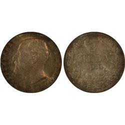 Bulgaria 2 Leva 1913 PCGS MS 63