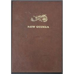 New Guinea Dat set 1935 to 1944 (13 Coins in rennick album)
