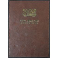 NZ Complete set Shillings & Florins 1933 to 1965