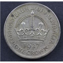 1937 Crowns EF or better (4)
