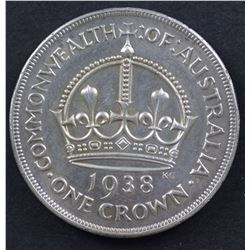 1938 Crown Extremely Fine Plus