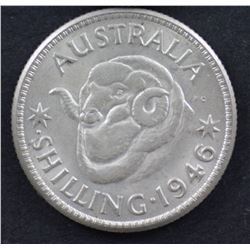 1946 Perth Shilling Uncirculated