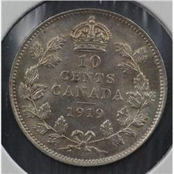 Canada 10c 1919 Uncirculated