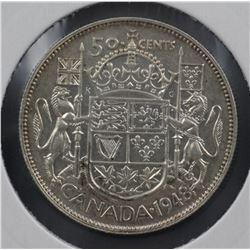 Canada 50c 1948 EF 45