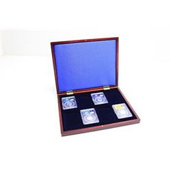 PCGS Deluxe box to hold 8 Coins