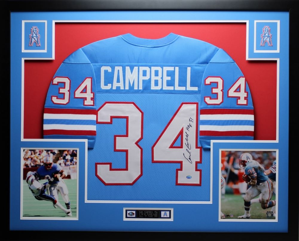 70f42631f30 Image 1   Earl Campbell Signed Oilers 35