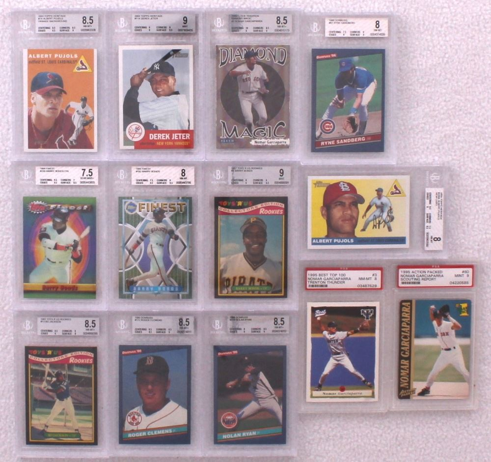 Graded Cards With 1995 Action Packed 60 Nomar Garciaparra