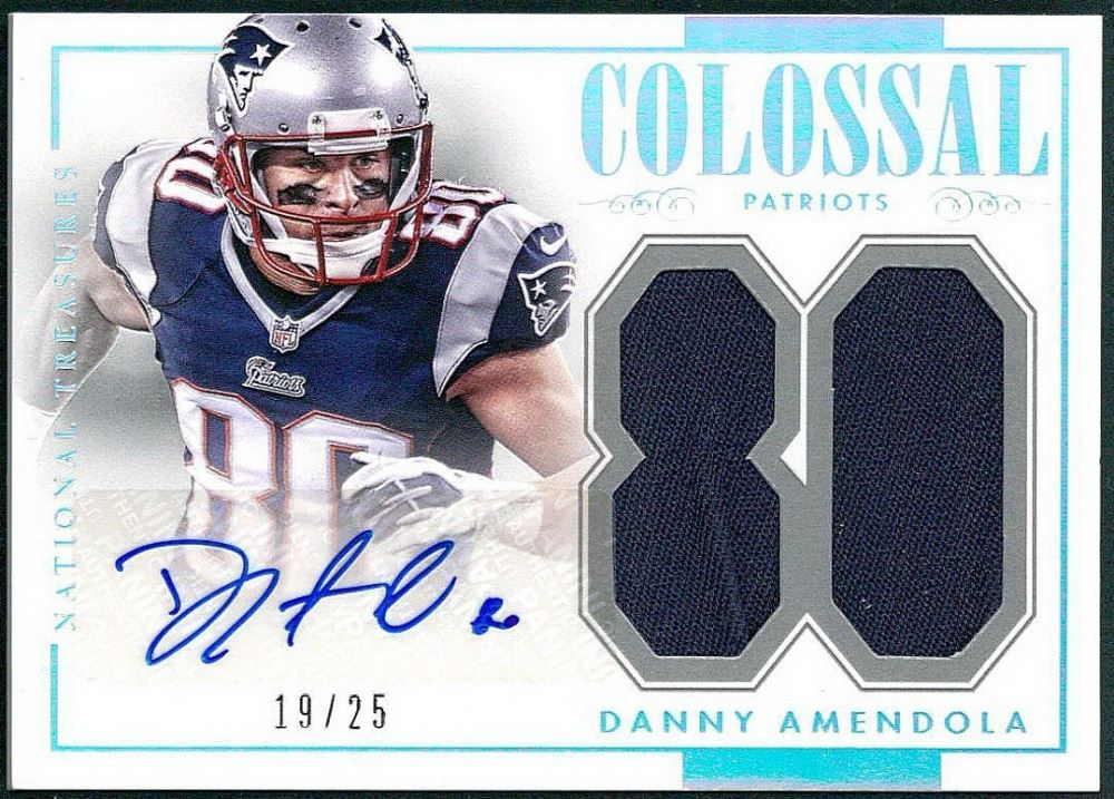hot sale online 07680 9b285 Danny Amendola 2014 Panini National Treasures Colossal ...