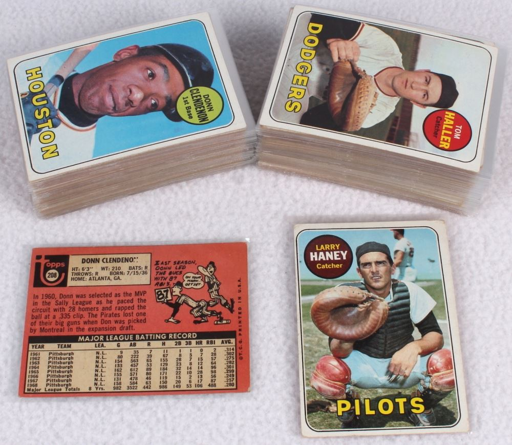 Lot Of 112 1962 Topps Baseball Cards With 208 Donn Clendenon